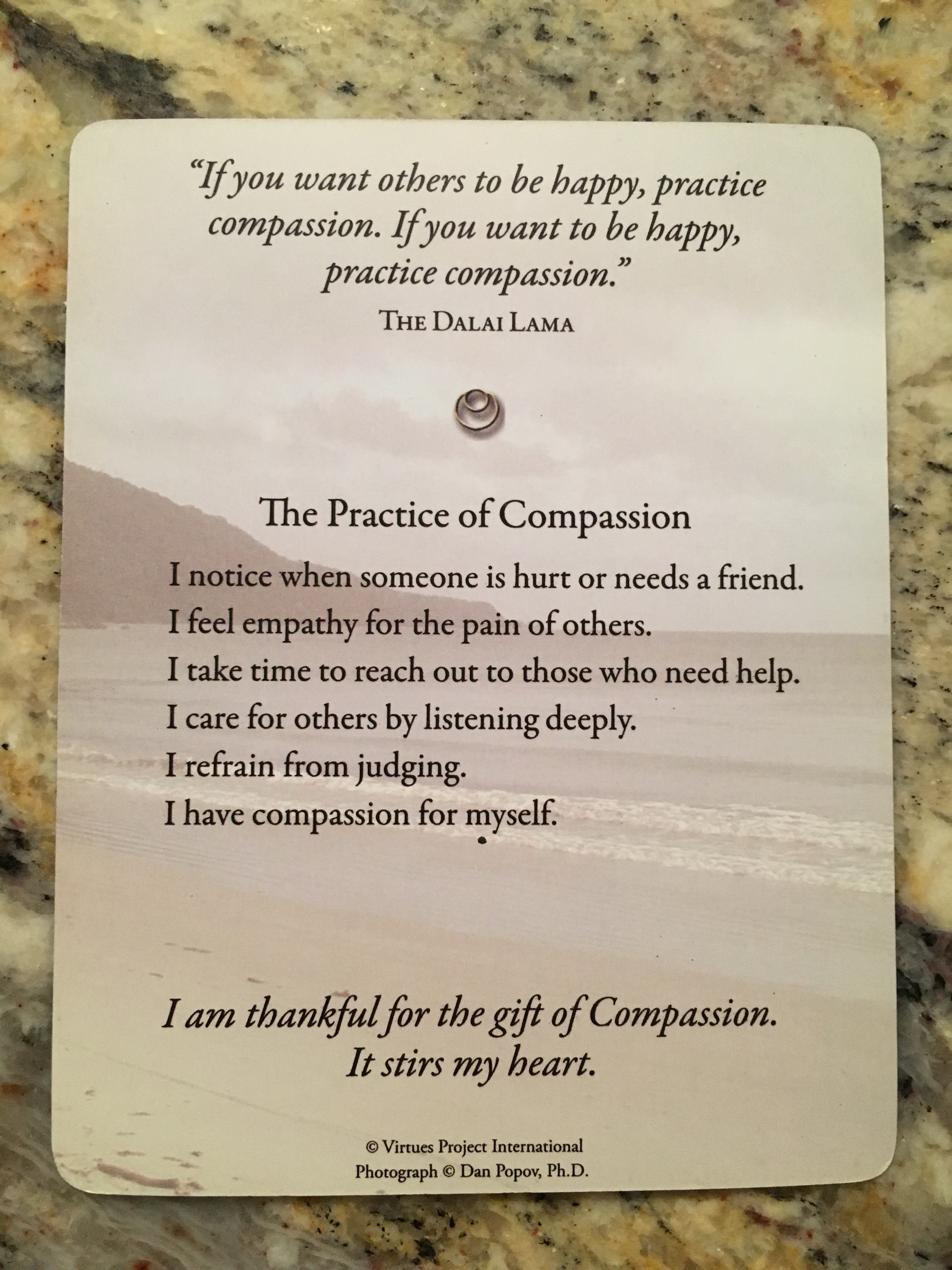 care and compassion definition